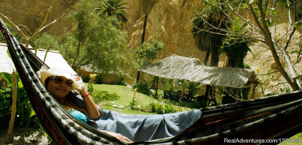 Chill out at the bottom of the canyon | Image #7/20 | Colca Canyon trek Arequipa -Per?