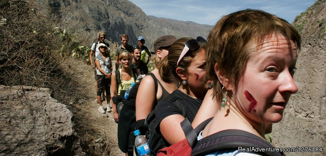 Our groups are maximun 8 people - Colca Canyon trek Arequipa -Per?