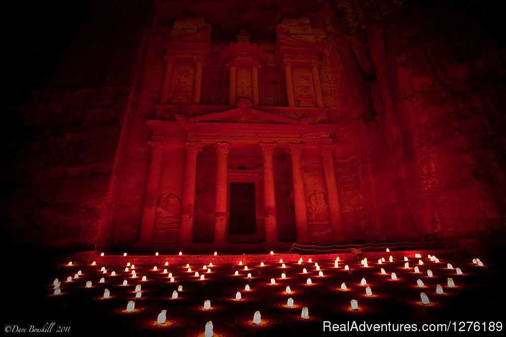Petra With Candels | Image #8/14 | Real Adventure Sun & Fun