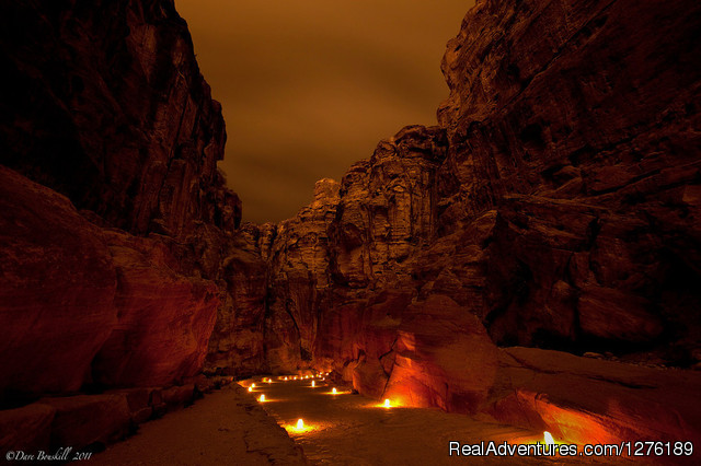 Petra at Night (#5 of 14) - Real Adventure Sun & Fun