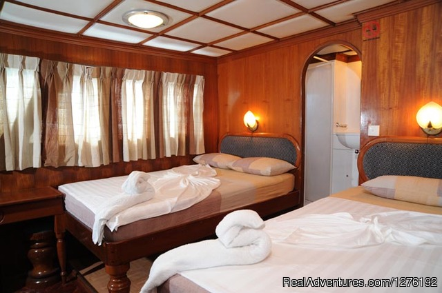 Twin Cabin - MV Carina Liveaboard Maldives