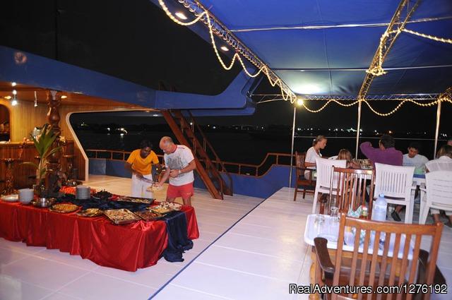 Dining - MV Carina Liveaboard Maldives