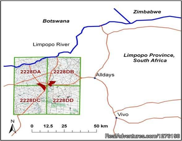 Mogalakwena location map | Image #12/12 | Wildlife Volunteering South Africa