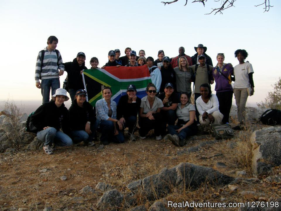 Student group on Mountain | Image #11/14 | Wildlife Volunteering South Africa