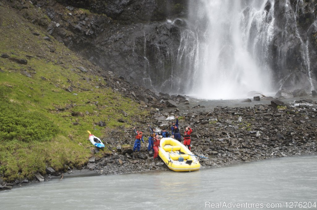 Scenic Rafting with Waterfall | Image #15/23 | Tsaina Lodge -Helicopter Fishing & Adventures