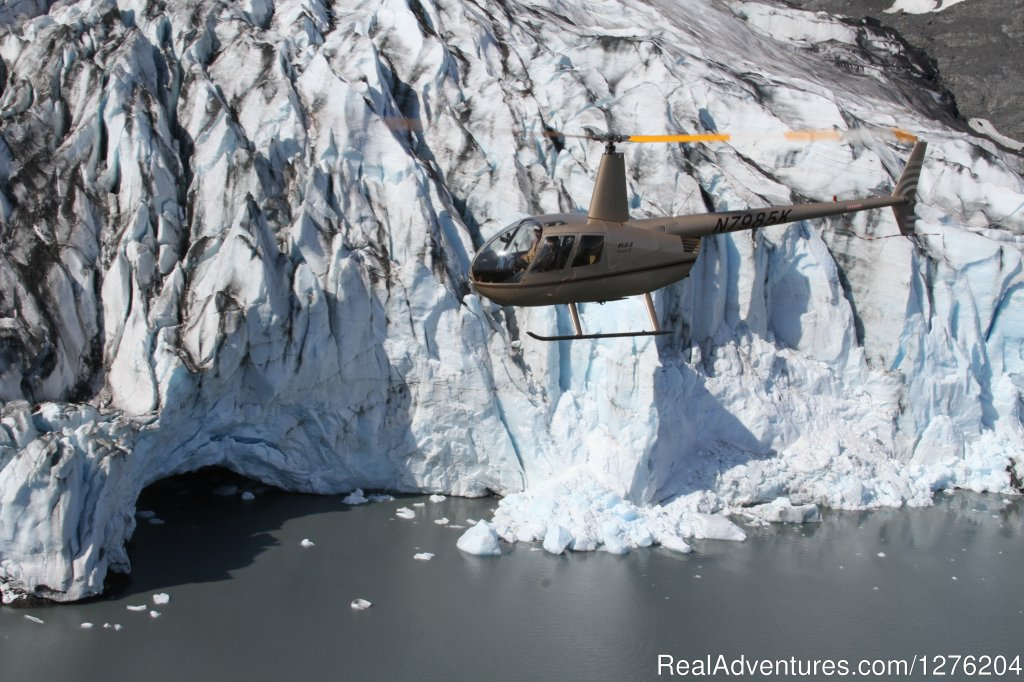 Helicopter Glacier Sightseeing | Image #16/23 | Tsaina Lodge -Helicopter Fishing & Adventures