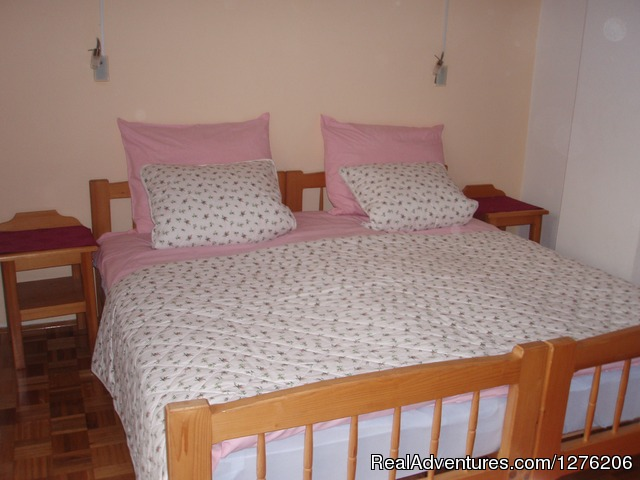 Bedroom with three beds - Apartment Brglez Bled 4-6