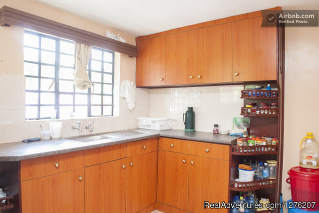 Kitchen - A Home Away from Home at 3Butterflies Guesthouse