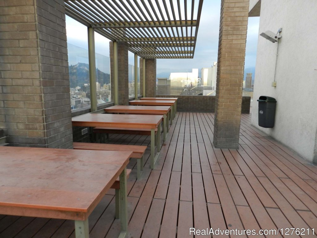 Barbecue Area | Image #10/14 | Best Location furnished Apart Santiago Downtown