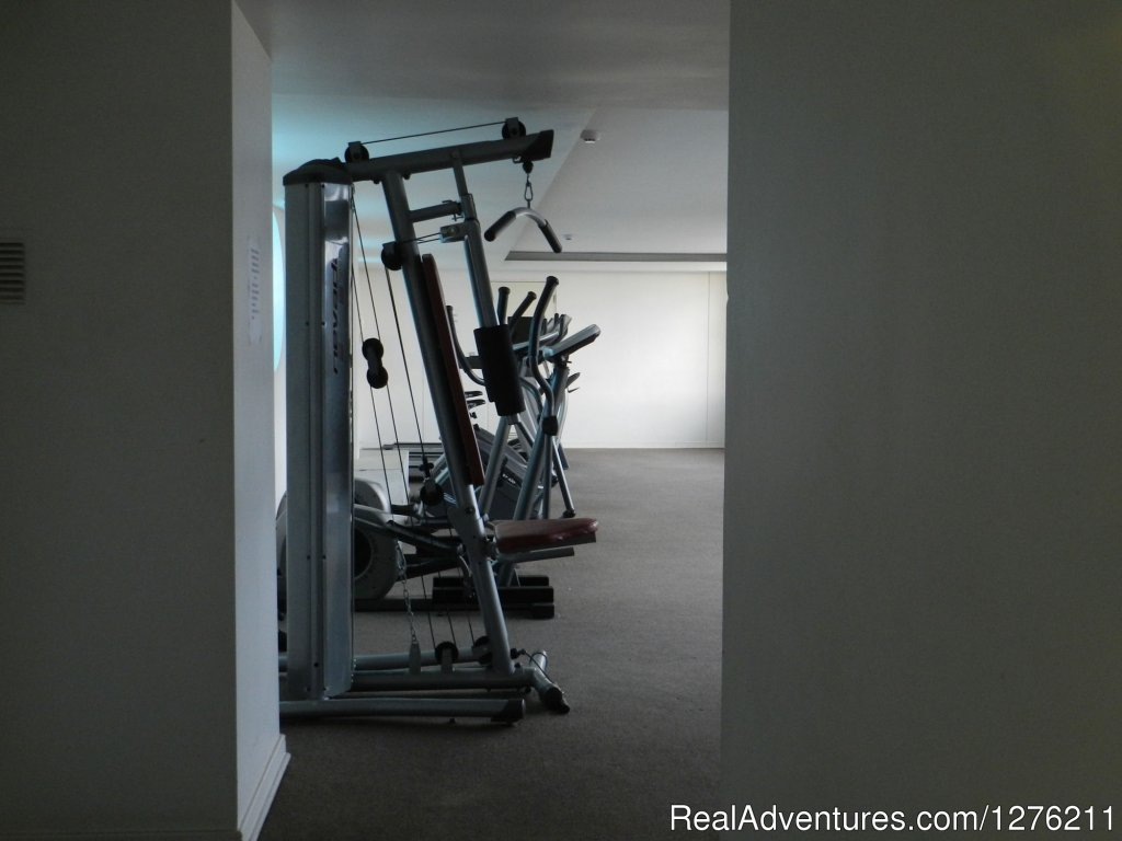 Gym | Image #11/14 | Best Location furnished Apart Santiago Downtown