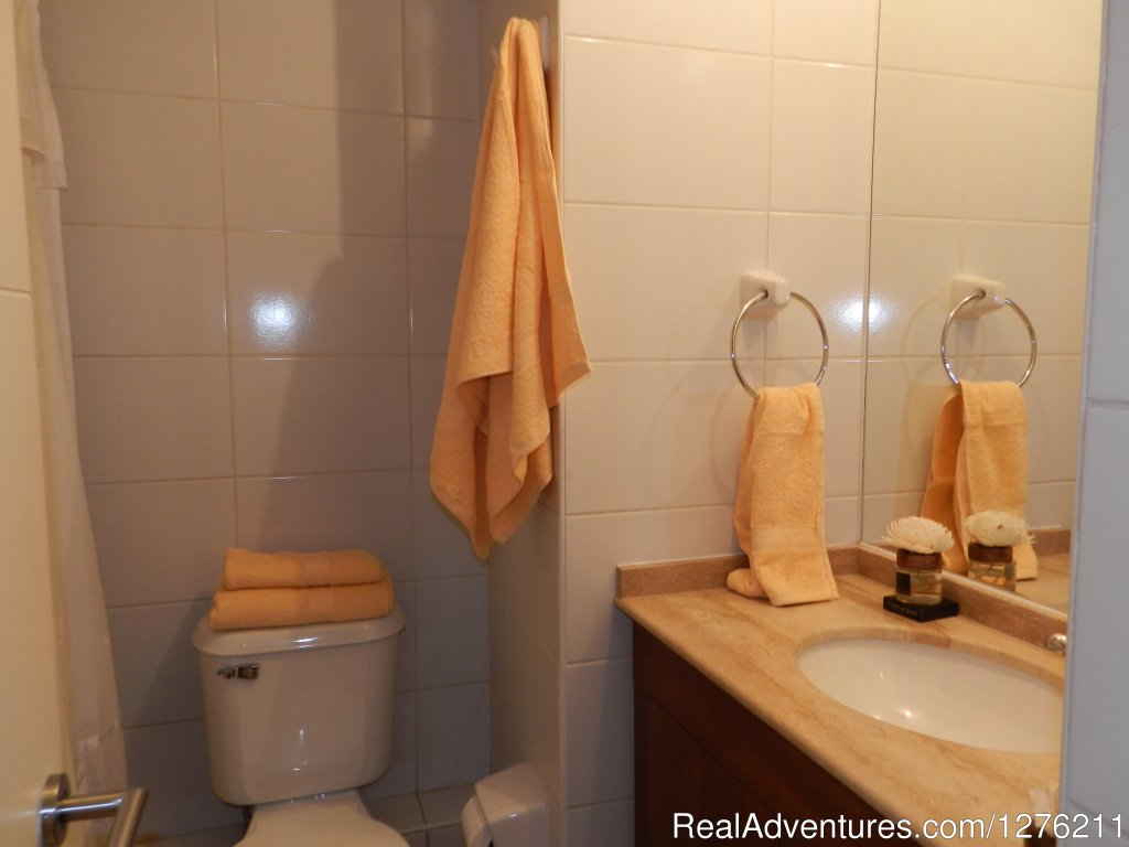 Bathroom | Image #13/14 | Best Location furnished Apart Santiago Downtown