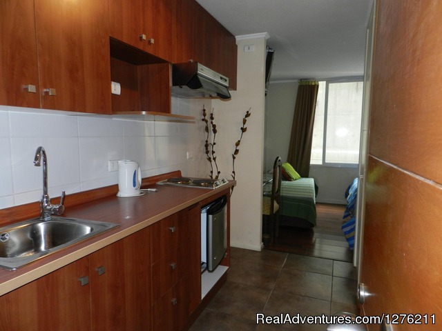 Best Location furnished Apart Santiago Downtown