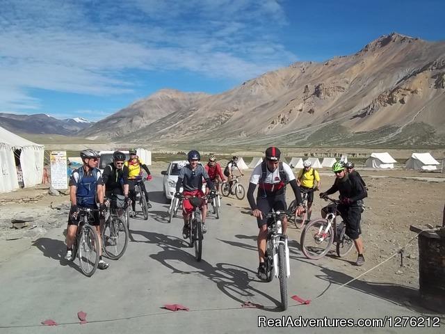 Manali to Leh Mountain Bike Tour - Adventure in Indian Himalaya