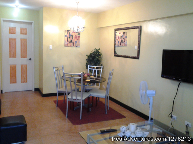 dining area Amber403 - Accomodation Vacation Rentals or Long term lease