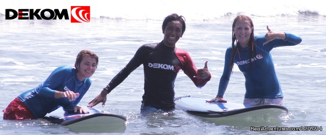 Dekom Bali Surf School provides surf lessons and surf guide - DEKOM Bali Surf School