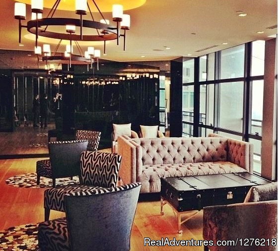 Condo For Rent, Gramercy in Century City, Makati: Residential Lounge