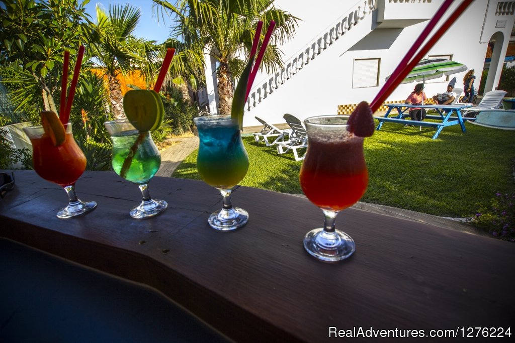 Cocktail in Tropical Garden | Image #3/26 | Sagres Natura Surf Camp