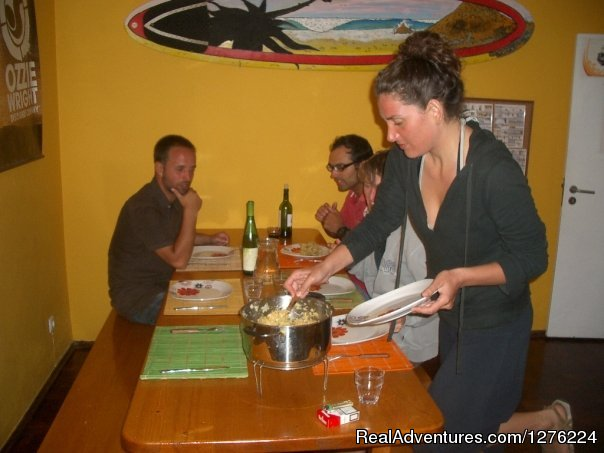 Dinner Time at the Surfcamp (#13 of 26) - Sagres Natura Surf Camp