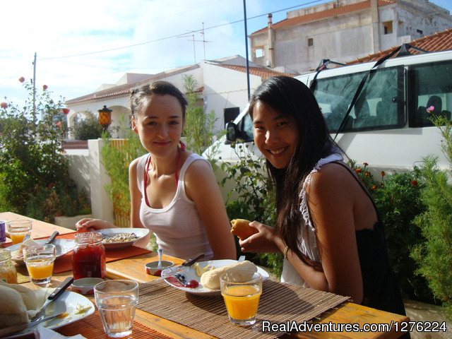 Breakfast - Sagres Natura Surf Camp