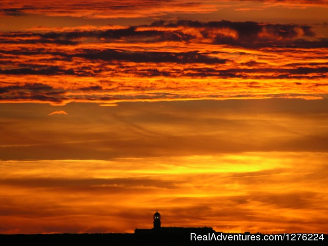 Sunset - Sagres Natura Surf Camp