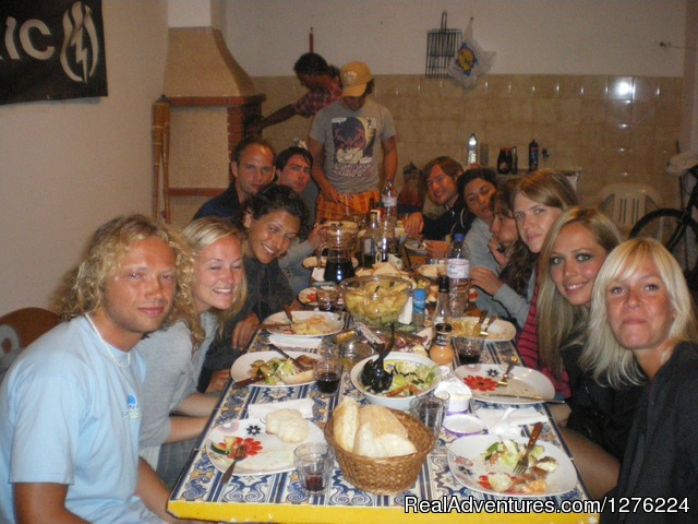 Barbecue - Sagres Natura Surf Camp