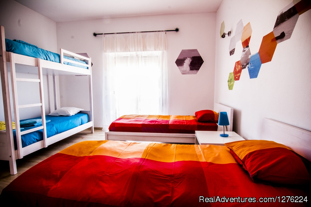Shared Room - Sagres Natura Surf Camp