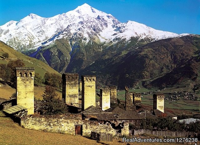 Ushguli - village - Ancient World - the most exotic country in Europe