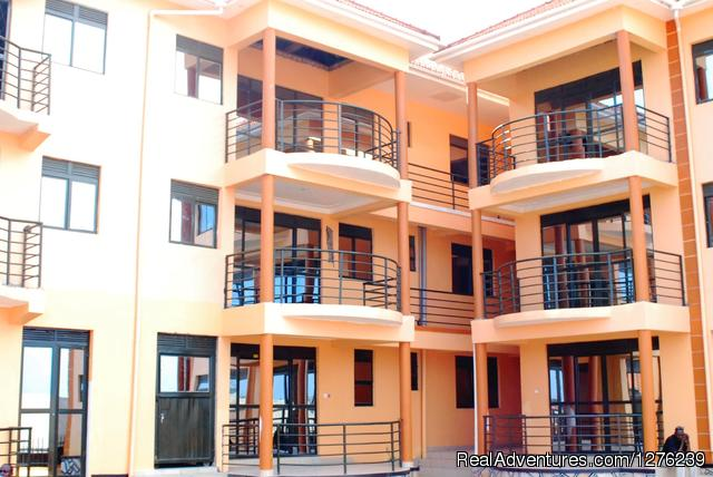 Kampala Furnished Apartments: Front View