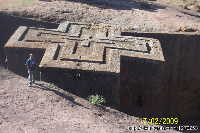 Rock-hewn church of Lalibela - 'Your getaway to visit Ethiopia'