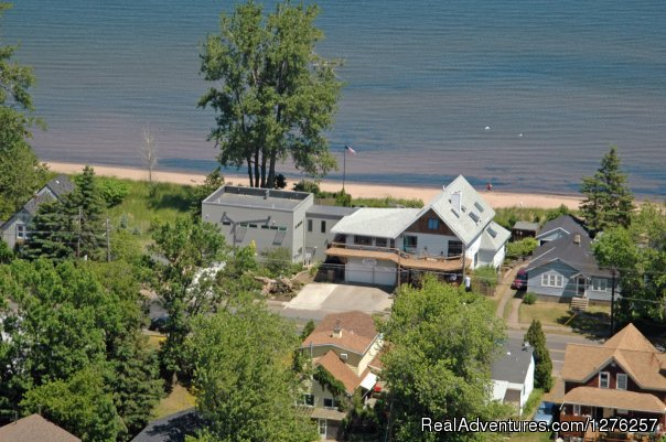Aerial View - Solglimt Bed & Breakfast