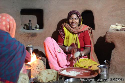 Chhotaram Prajapat's Homestay Cooking Food