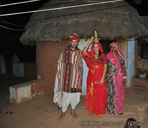 Traditional Dress - Chhotaram Prajapat's Homestay