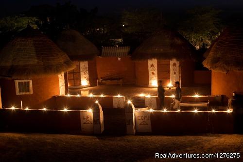Night View - Chhotaram Prajapat's Homestay