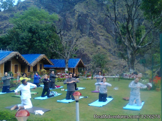Yoga at Camp - Yoga Tours in Rishikesh