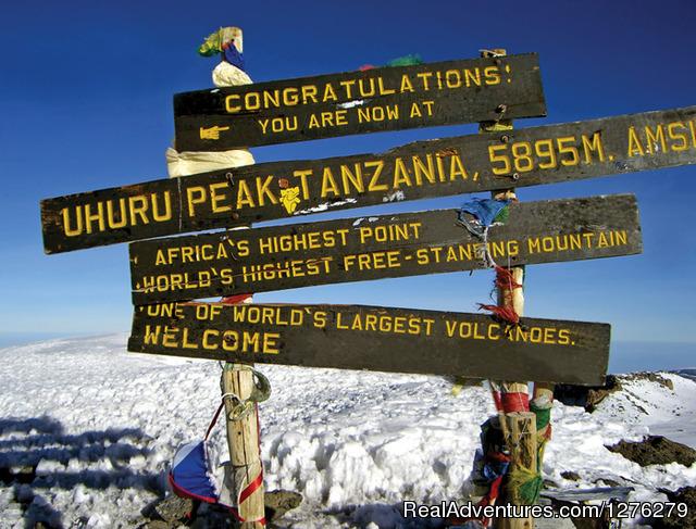 Kilimanjaro 5 - Mount Kilimanjaro Trekking - Machame Route