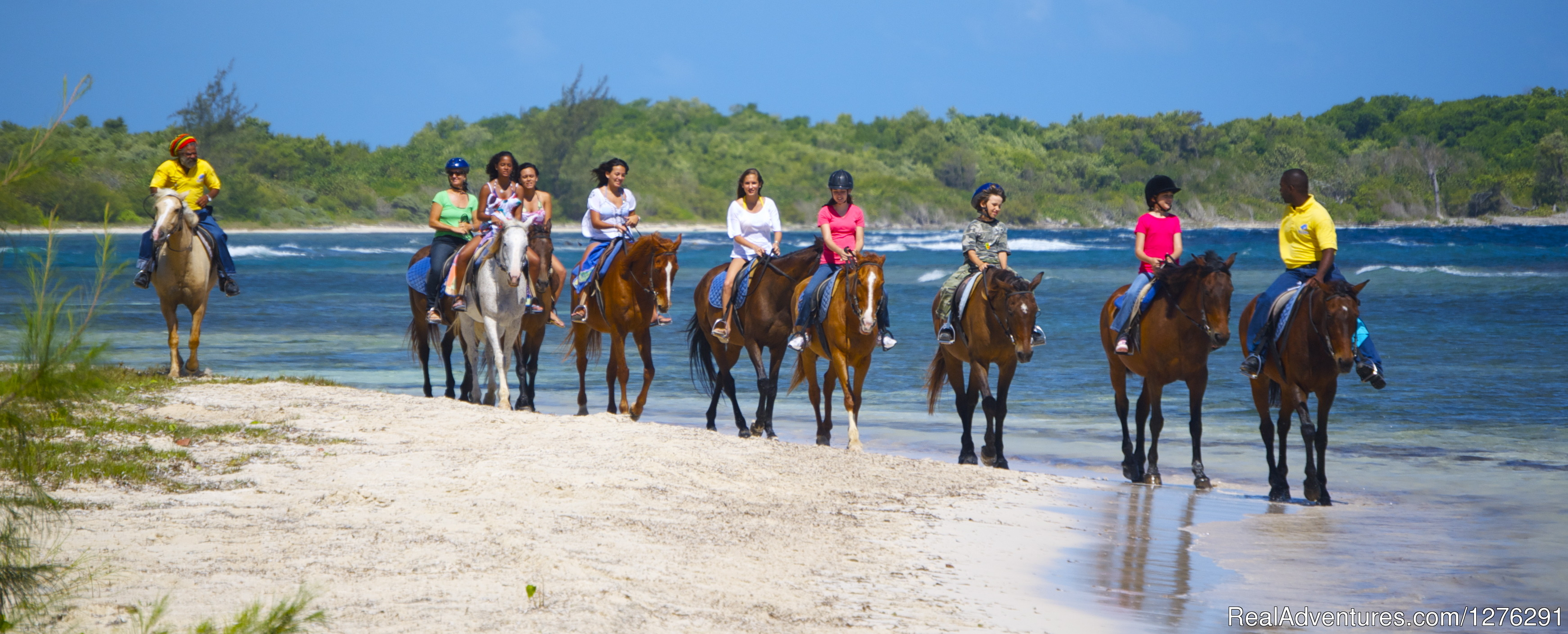Beach Ride | Image #2/2 | Braco Stables, Jamaica Horseback Ride n' Swim Tour