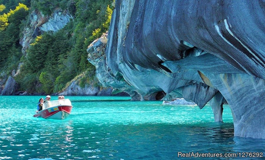 Marble Caves on Chile's largest lake | Image #5/6 | Fully Hosted Patagonian Overland Odyssey