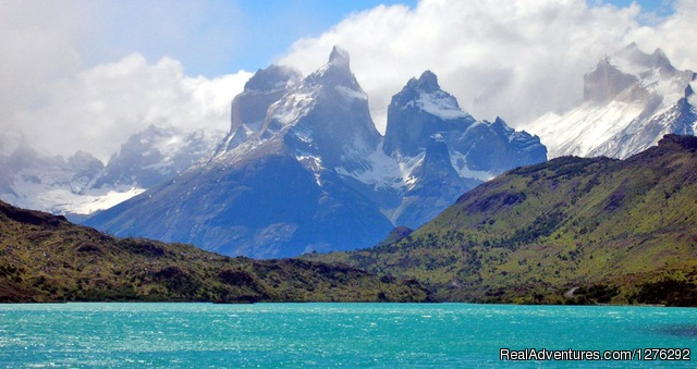 The Cuernos, or Horns, in Torres del Paine National Park - Fully Hosted Patagonian Overland Odyssey