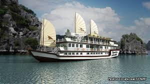Halong - Bai Tu Long Bay tour on Luxury cruise 5 Hanoi, Viet Nam Cruises
