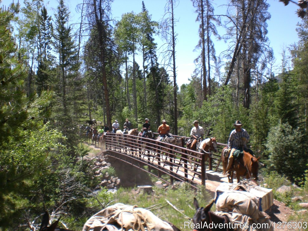 Headed into the back country | Image #3/7 | Horseback Wilderness Camping & Fishing Trips