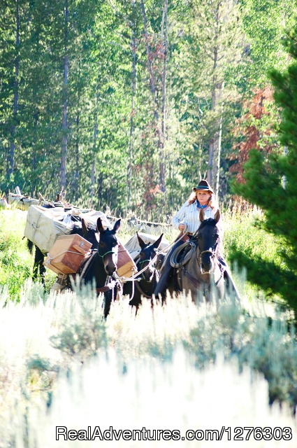 Pack String - Horseback Wilderness Camping & Fishing Trips