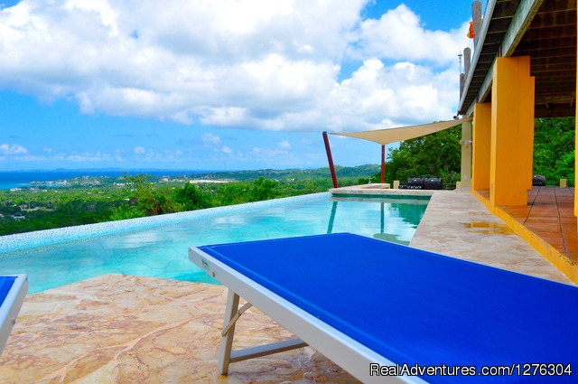 Vieques-villa Top of the Heap: Views from the pool decks