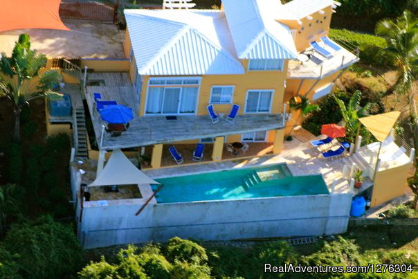 Bird Eye View - Vieques-villa Top of the Heap