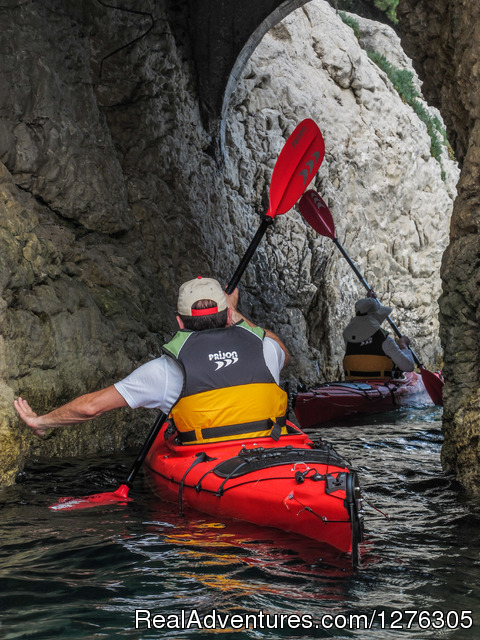 - Sea kayaking in Split