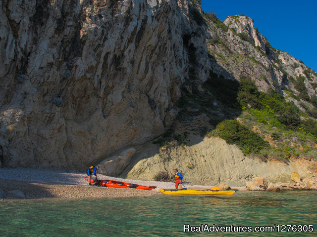 Sea kayaking in Split