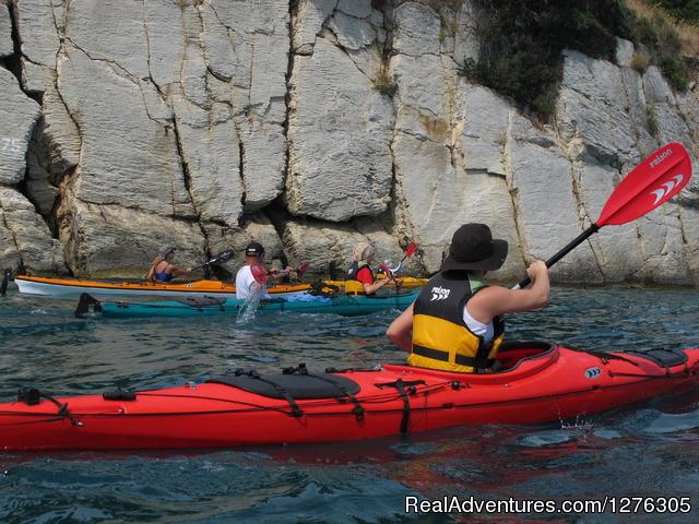 Image #2 of 9 - Sea kayaking in Split