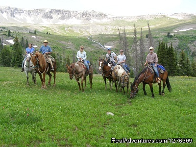 Summer Get Away on Horses With Boulder Basin Outf