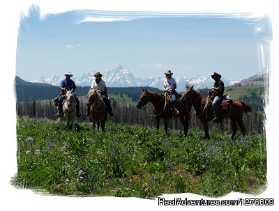 Good friends Great views - Summer Get Away on Horses With Boulder Basin Outf