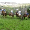 Summer Get Away on Horses With Boulder Basin Outf Horseback Riding Cody, Wyoming