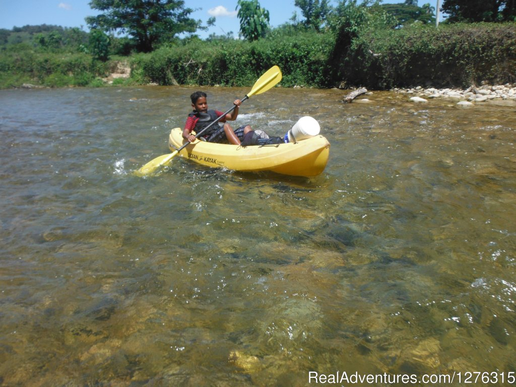 An excellent workout | Image #3/6 | Kayaking/Canyoning Adventures in the Dominican